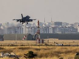Turkish F16 strike citizens Ras Al-Ain