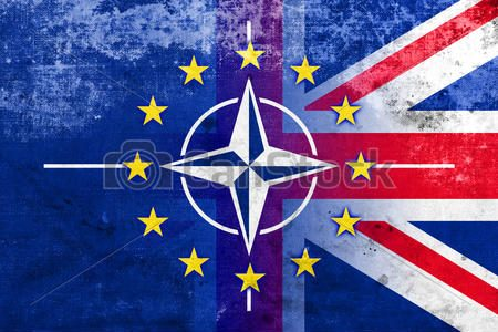 Image result for Brexit NATO""